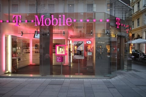 T-Mobile store front