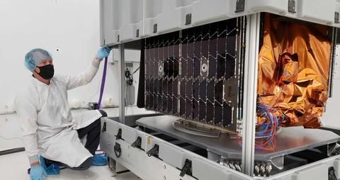 Astranis satellite backhaul