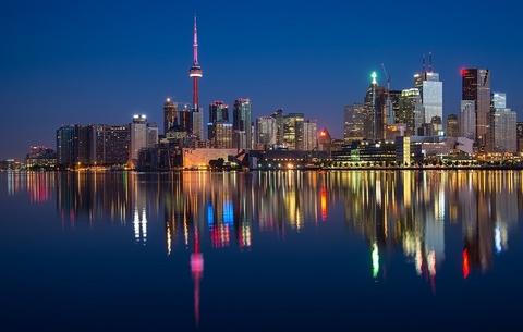 Ontario, Canada cityscape