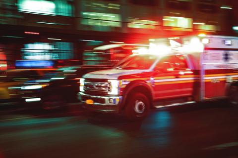ambulance first responder