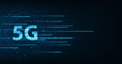 5G blue lines
