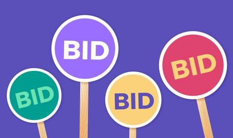 auction bids
