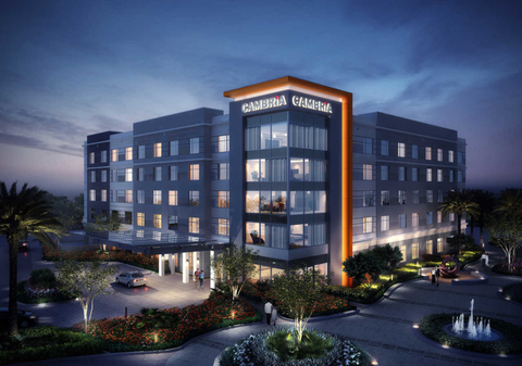The new Cambria hotel is part of the Chandler Viridian, a 25-acre mixed-use development project including office space, apartments, retail and the nearby Chandler Fashion Center.