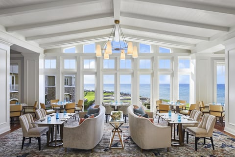 The Ritz-Carlton, Half Moon Bay renovates oceanfront restaurant, The Conservatory.