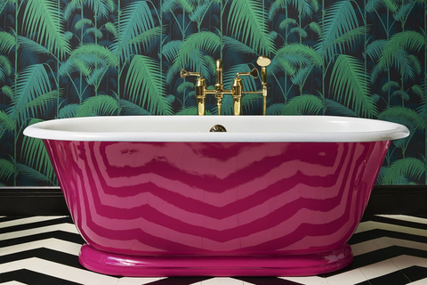 Drummonds launched the Tweed bathtub, a compact freestanding cast iron roll top, based on an 18th century bateau bath.