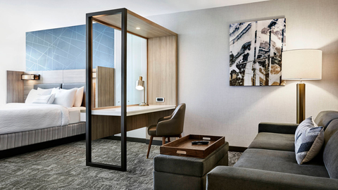New Springhill Suites Prepares To Open In Grandville Mich Hotel