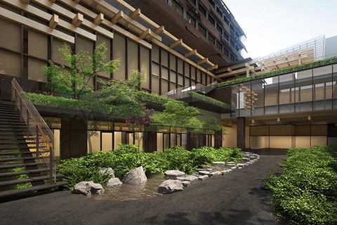 Kengo Kuma to transform Tetsuro Yoshida-designed building into Ace Hotel Kyoto.