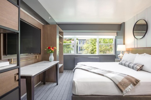JN+A redesigns former University Inn into ARC THE.HOTEL in D.C.'s Foggy Bottom.