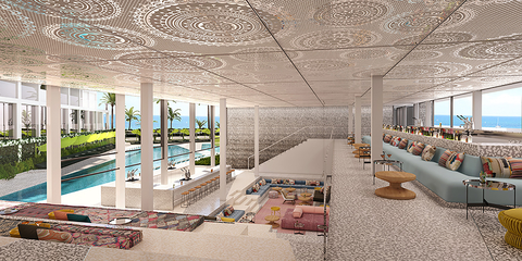 W Hotels Worldwide has planned to open the W Ibiza in the beachfront neighborhood of Santa Eulalia del Río in summer 2019.