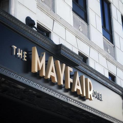 crescent hotels to manage los angeles 39 mayfair hotel. Black Bedroom Furniture Sets. Home Design Ideas
