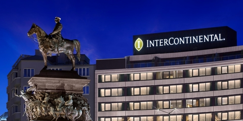 InterContinental Hotels Group has opened Bulgaria's first InterContinental Hotels & Resorts property in the capital city of Sofia.