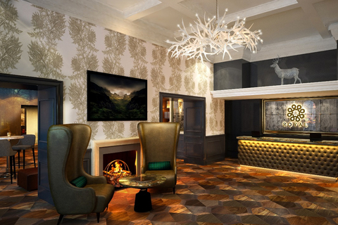 Crowne Plaza Edinburgh - Royal Terrace to undergo £3M refurbishment by LXA