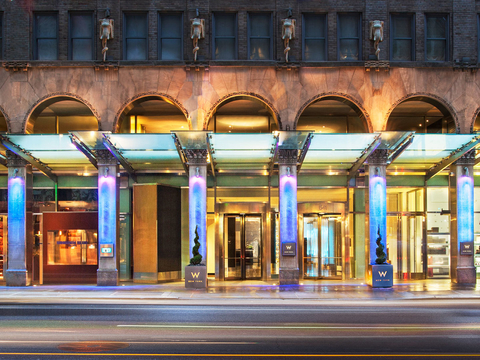 Capstone Highgate Source Loan To Buy Former New York W Hotel Hotel Management