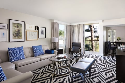 How Hollywood glamour and fashion inspired Chamberlain West Hollywood's redesign.