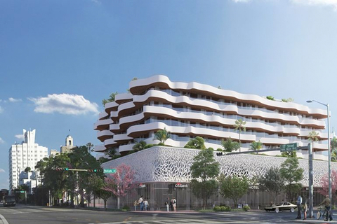 Rudy Ricciotti conceptualizes new-build property in South Beach district, eyes 2020 opening.