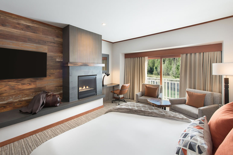 How contemporary mountainside concept influenced Salish Lodge & Spa's guestroom renovation.