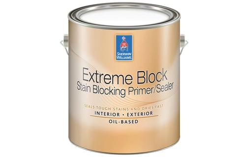 The new oil-based primer reduces the need for repaints by sealing off stains such as smoke, fire and nicotine.