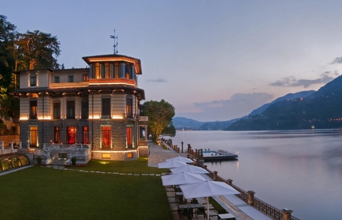 Mandarin oriental to rebrand lake como italy resort hotel management - Casta diva group spa ...
