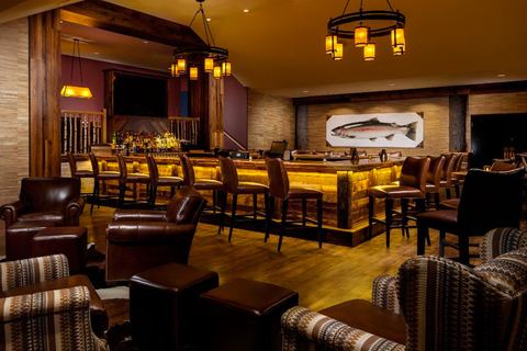 Meyda Custom Lighting illuminates Tailwater Lodge, a member of the Tapestry Collection by Hilton in Upstate New York.