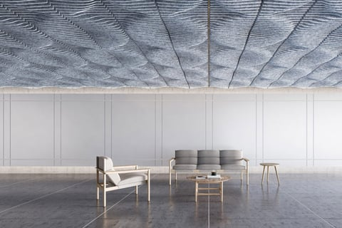 Designed by Instyle Studio, Tide was inspired by the ripples of water dispersing outwards.