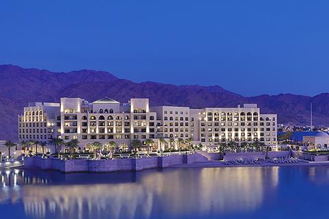 Arabian influences mark design by Samuel Creations/MMac Associates of Luxury Collection's first hotel in Jordan.