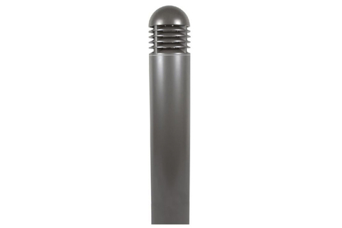 These bollard lights have a heavy-duty dome-top shape with a classic appearance appropriate for various locations.