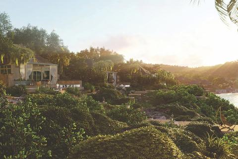 How the Caribbean and environmental aesthetic influenced Studio Piet Boon's design of Half Moon Bay Antigua.
