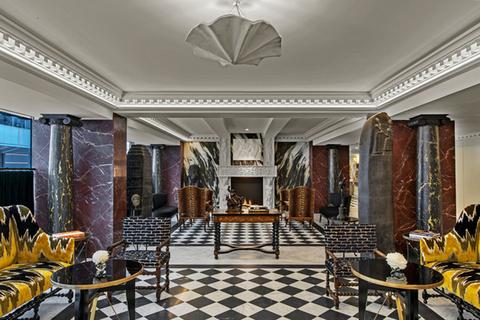 Philippe Renaud designs interiors of Hôtel de Berri in Paris.
