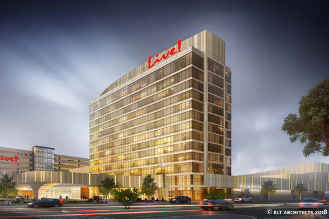Gilbane Building Company serves as general contractor for $700M project Live! Casino & Hotel Philadelphia.