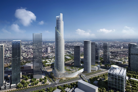 Moshe Tzur, James von Klemperer help design The Spiral Tower, which eyes to open as Israel's tallest tower.