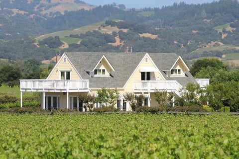 The property selected local Wine Country designer Kathi Bart to do the redesign.