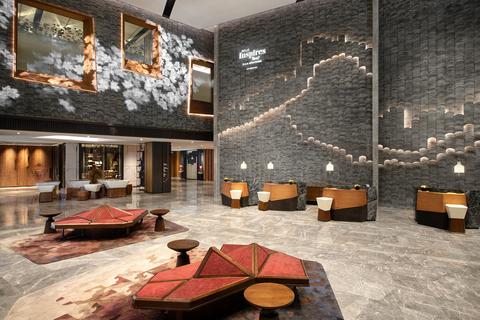 Wilson Associates designs Renaissance Xi'an Hotel in China.