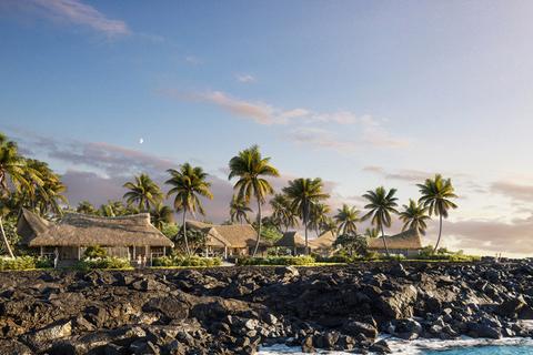 Kona Village, A Rosewood Resort to open in Hawai'i in 2022.