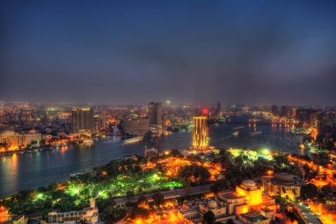 Cairo Skyline from Cairo Tower