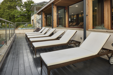 The FSC-certified Trekker collection offers a range of composite decking and cladding boards suitable for both external and internal use.
