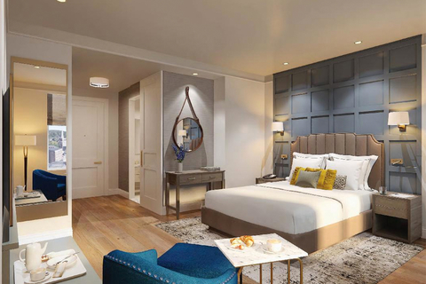 The Hotel Concord is scheduled to open as a 38-room hotel in New Hampshire this August 24.