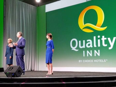 Quality Inn Logo Launch