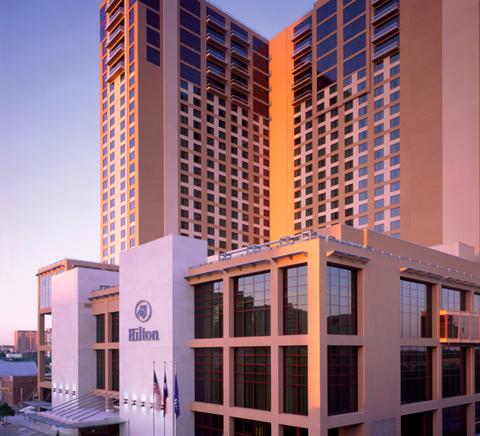Hilton Austin exterior