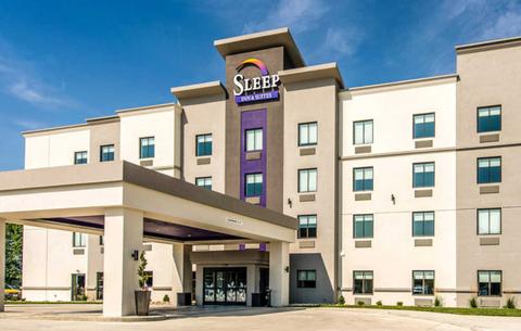 A Sleep Inn prototype's exterior