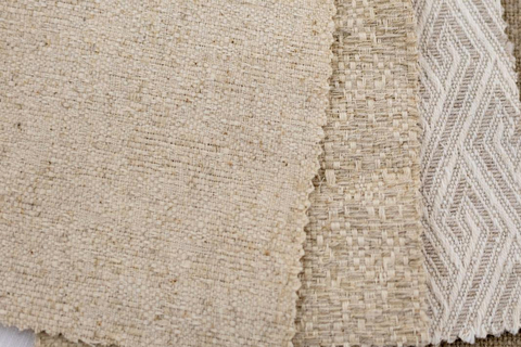 Milliken Specialty Interiors introduced a range of new fabrics, including a jacquard pattern and cotton-linen blends.