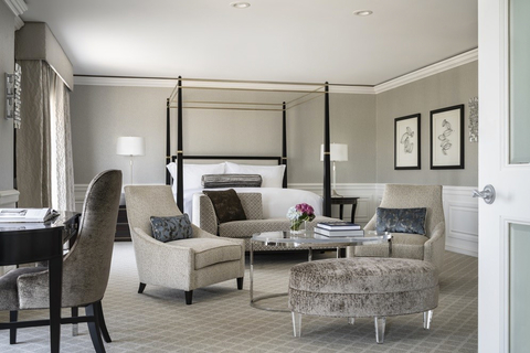 The Ritz-Carlton, St. Louis renovates Club Lounge, select accommodations.