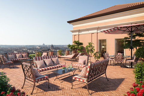 Rocco Forte Hotels unveiled its second hotel in Rome, Hotel de la Ville.