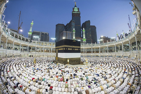 The Great Mosque of Makkah, the largest mosque in the world