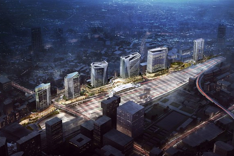 Pickard Chilton completes master plan, tower design for Japan development.