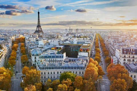 Paris and France are seeing a return to normality in the hotel industry