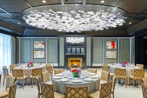 The Peninsula Chicago unveils newest meeting space designed by Bill Rooney Studio.