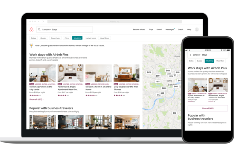 New deals help Airbnb target business travelers | Hotel
