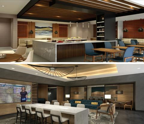 Kraig Kalashian Architecture & Design renovates Chicago Marriott Schaumburg.