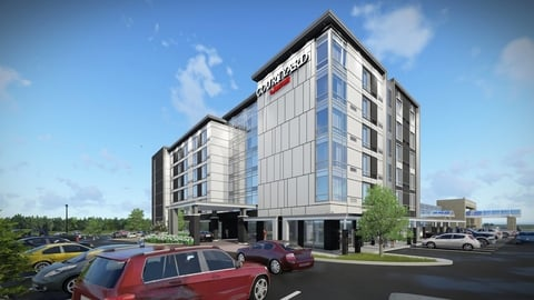The 135-room hotel will operate as a Marriott franchise, owned by Burlington Hotels Group and managed by Burloak Hospitality Management.