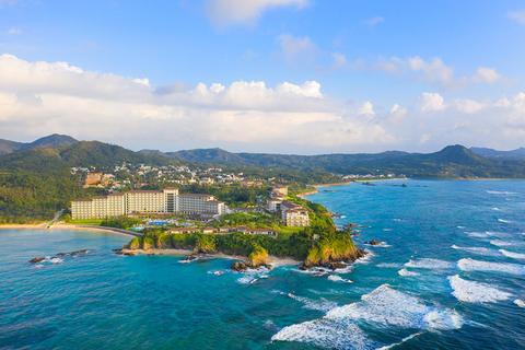 Halekulani Okinawa opens with interiors by Champalimaud Design.